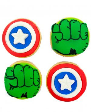 Galletas superheroes