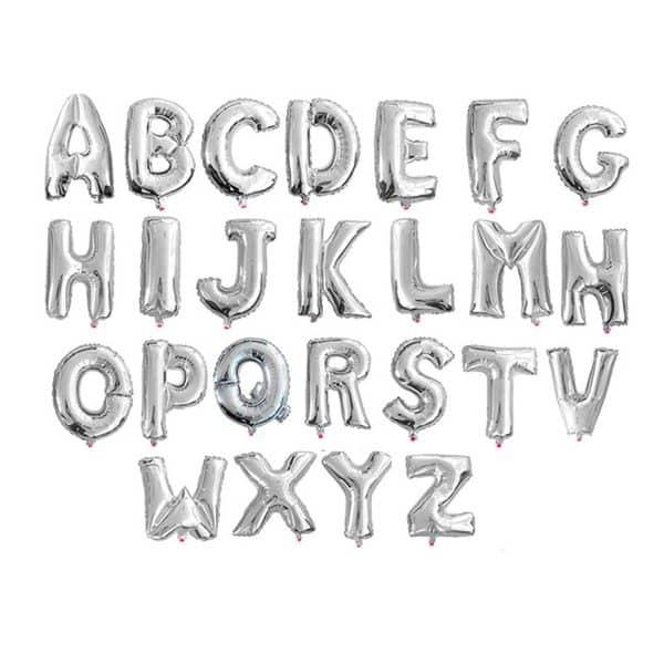 Letra metal peq