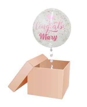 caja sorpresa burbuja
