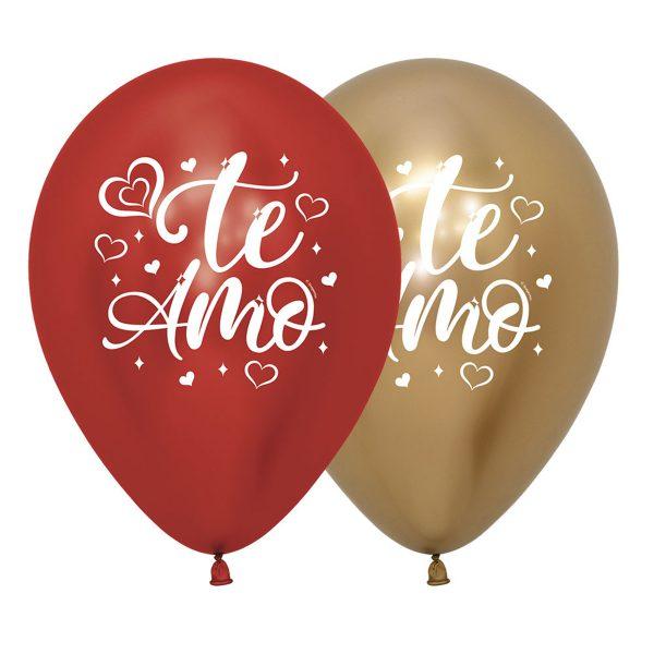 globos reflex te amo
