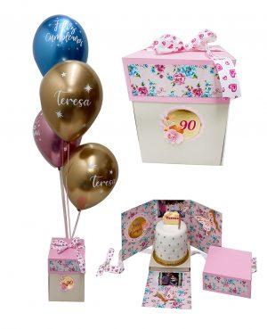 caja torta