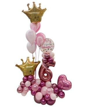 balloon bouquet corona rose